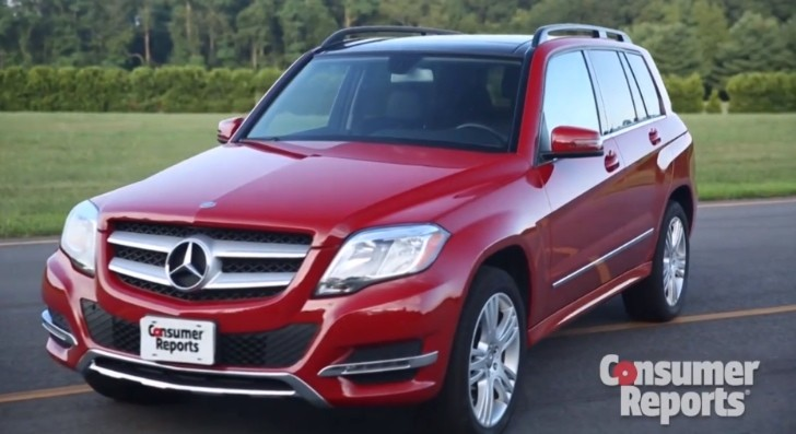 mercedes glk 350 facelift gets reviewed by consumer