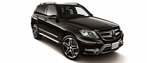 Mercedes GLK Gets Schwarz Edition in Japan