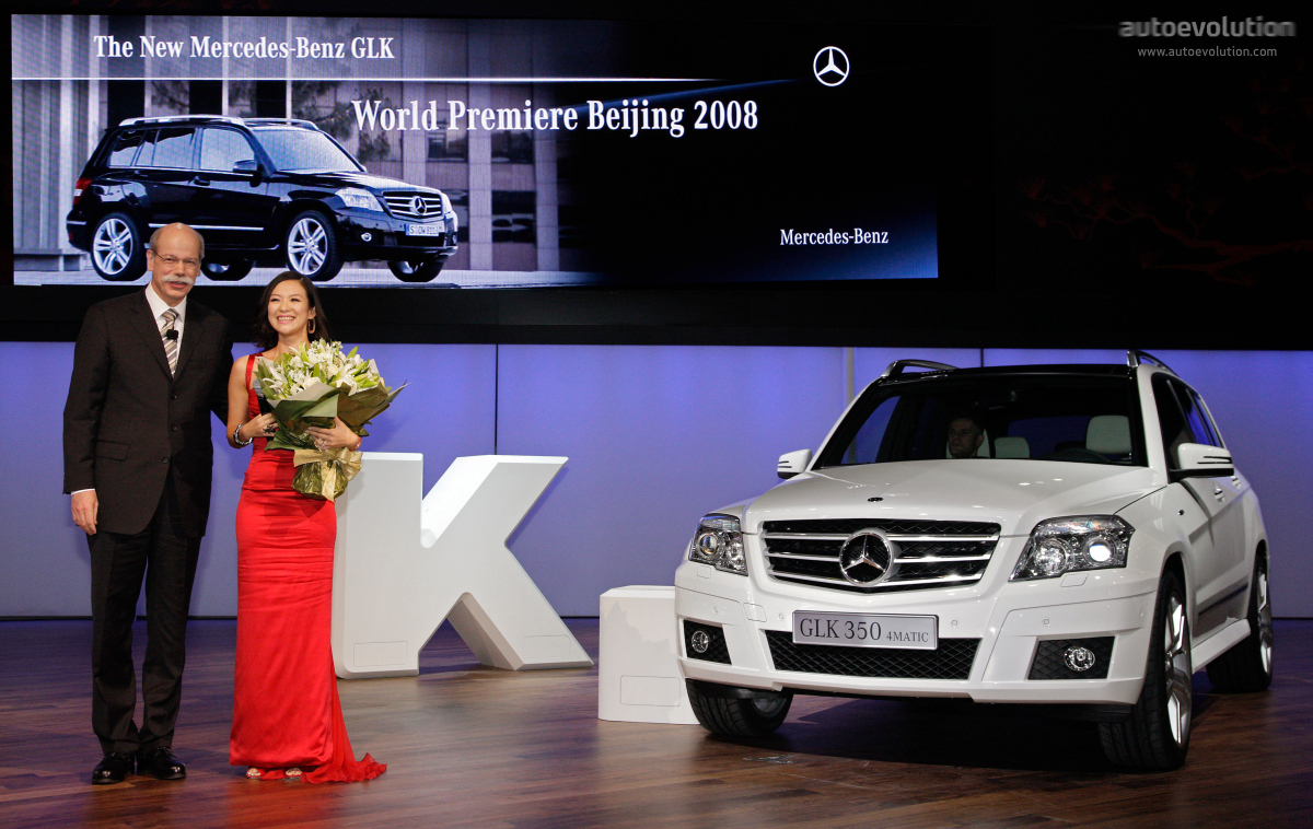 Mercedes 39 glk in china autoevolution for Mercedes benz china