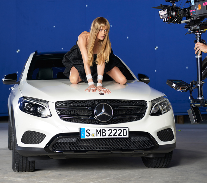 Mercedes goes andy warhol in spring summer 2016 hybrid by for Mercedes benz marketing mix