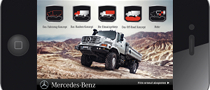 Mercedes Launches Zetros iPhone App
