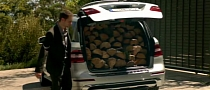 Mercedes M-Class Commercial: Tree Turned to Firewood [Video]