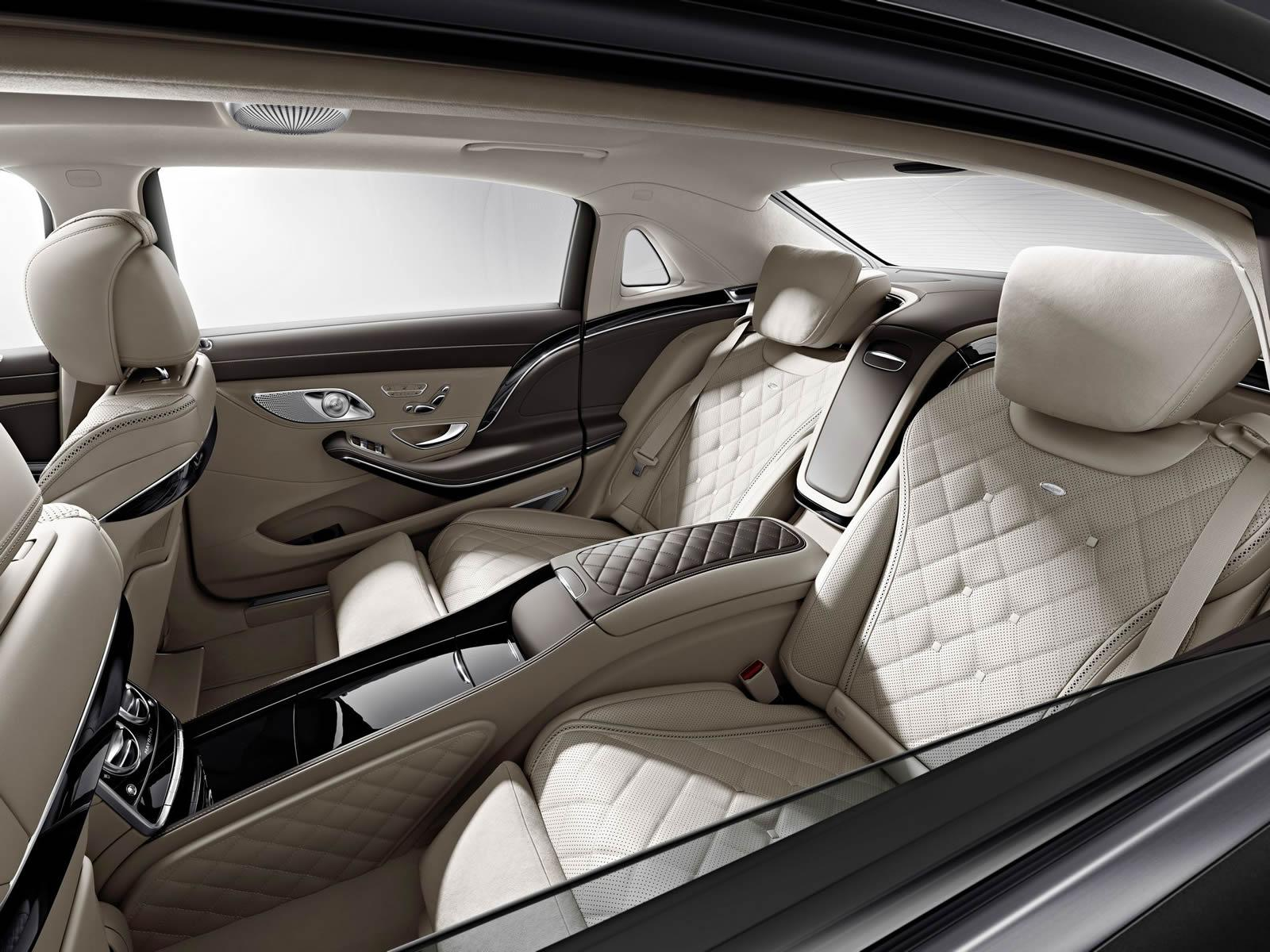 mercedes-maybach s600 to bow in los angeles, here is the interior