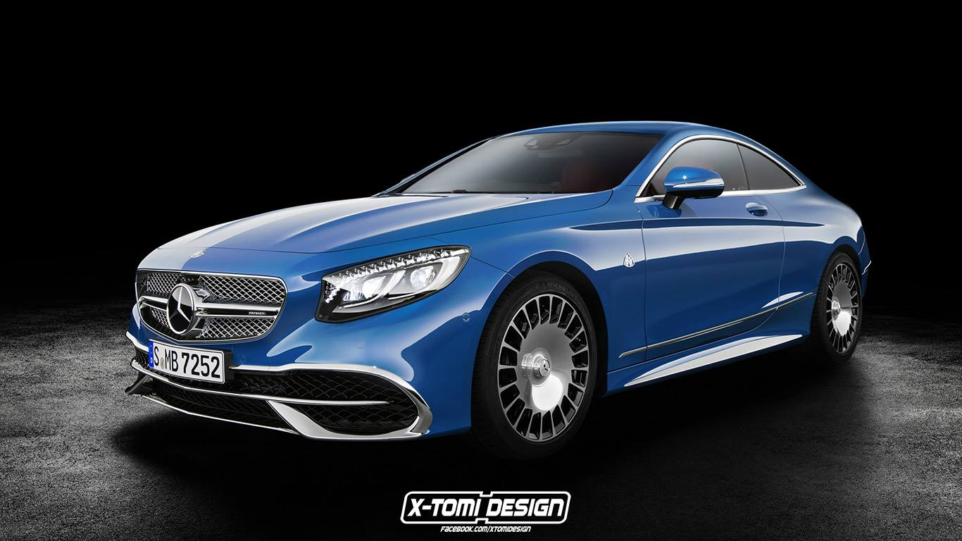 Mercedes Maybach S650 Coupe Rendering Why Not