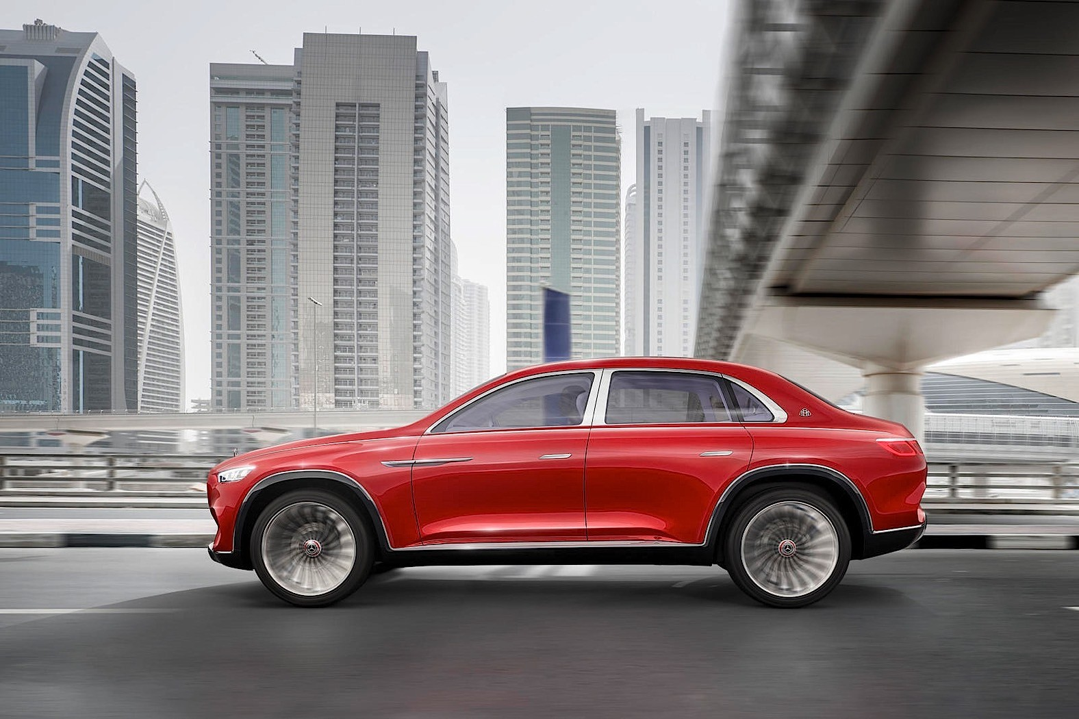 Mercedes Maybach Sports Utility Limousine Reportedly Going Into Production Autoevolution