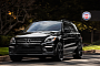 Mercedes ML63 AMG on HRE Wheels [Photo Gallery]