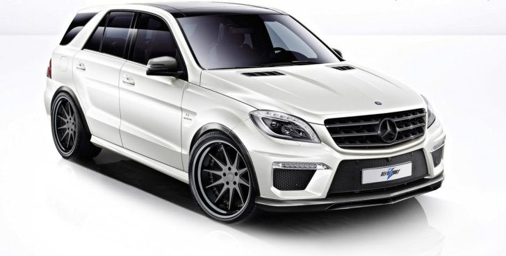 Mercedes ML63 AMG Tuned by RevoZport