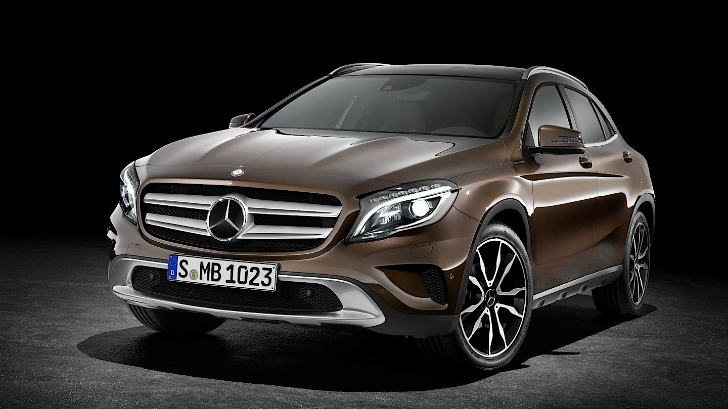 Mercedes Officially Reveals GLA Compact SUV [Photo Gallery]