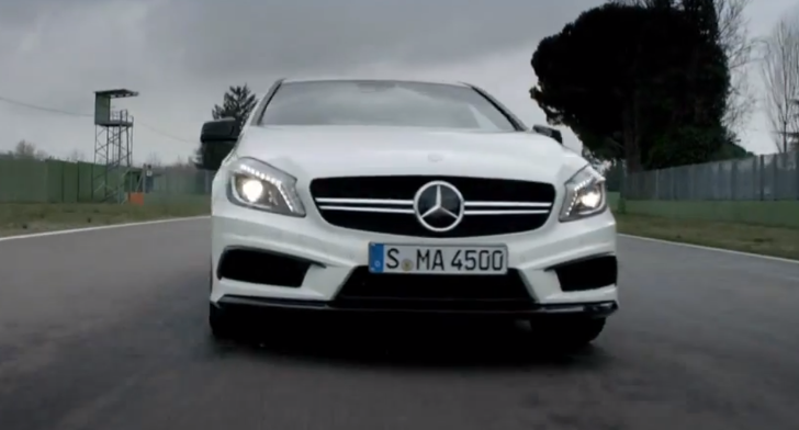 Mercedes Presents A45 AMG in Fine Detail [Video]
