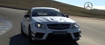 Mercedes Releases C63 AMG Coupe Black Series Promo Video