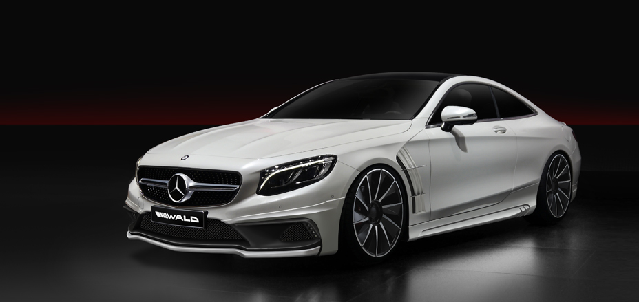 Mercedes S Class Coupe Tuning Kit By Wald International