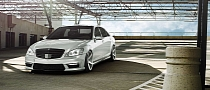 Mercedes S-Class Gets Vossen Wheels [Photo Gallery]