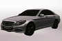 Mercedes S-Class Plug-in Hybrid Shows Up in Patent Photos [Photo Gallery]