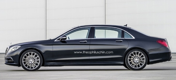 Mercedes S600 Pullman Rendered: The Maybach Successor Is Classy