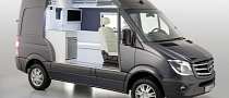 Mercedes Showcases Sprinter Caravan Cut-Away