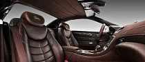 Mercedes SL Interior Enhanced with Crocodile Leather [Photo Gallery]
