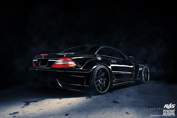 Mercedes SL R230 Got a New Widebody Kit
