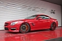 Mercedes SL63 AMG on Forgiato Wheels by Office-K [Photo Gallery]