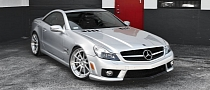 Mercedes SL63 AMG Rides on ADV.1 Wheels [Photo Gallery]