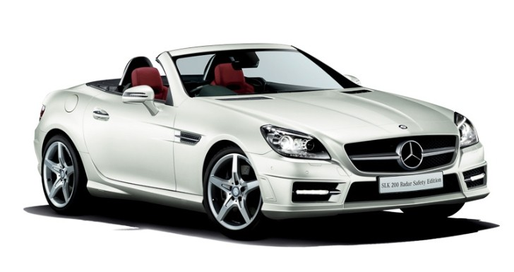 Mercedes SLK 200 Radar Safety Edition Launched in Japan