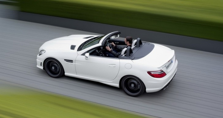 Mercedes SLK 55 AMG UK Pricing Announced