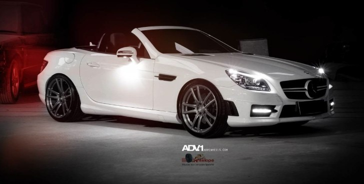 Mercedes SLK Receives ADV.1 Wheels [Photo Gallery]