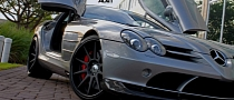 Mercedes SLR McLaren on ADV1 Wheels [Photo Gallery]