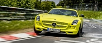 Mercedes SLS AMG Electric Drive Breaks Nurburgring EV Lap Record: 7:56.2 [Video]