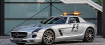 Mercedes SLS AMG GT F1 Safety Car Unveiled