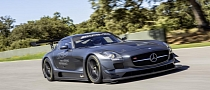 Mercedes SLS AMG GT3 45th Anniversary Unveiled [Photo Gallery]