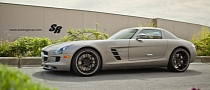Mercedes SLS Rides on PUR Wheels [Photo Gallery]