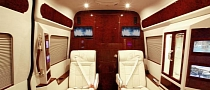 Mercedes Sprinter Van by Lexani Motorcars Costs Almost $300,000 [Video] [Photo Gallery]