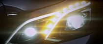 Mercedes Teases W212 E-Class Facelift Headlights [Video]