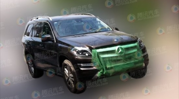 Mercedes Testing GL400 in China: Hybrid or Biturbo?