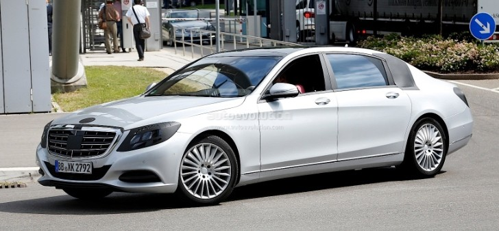 Mercedes To Take On Rolls Royce Bentley With Super S
