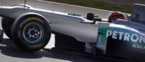 Mercedes to Use Extra Pedal for Rear Wing Activation