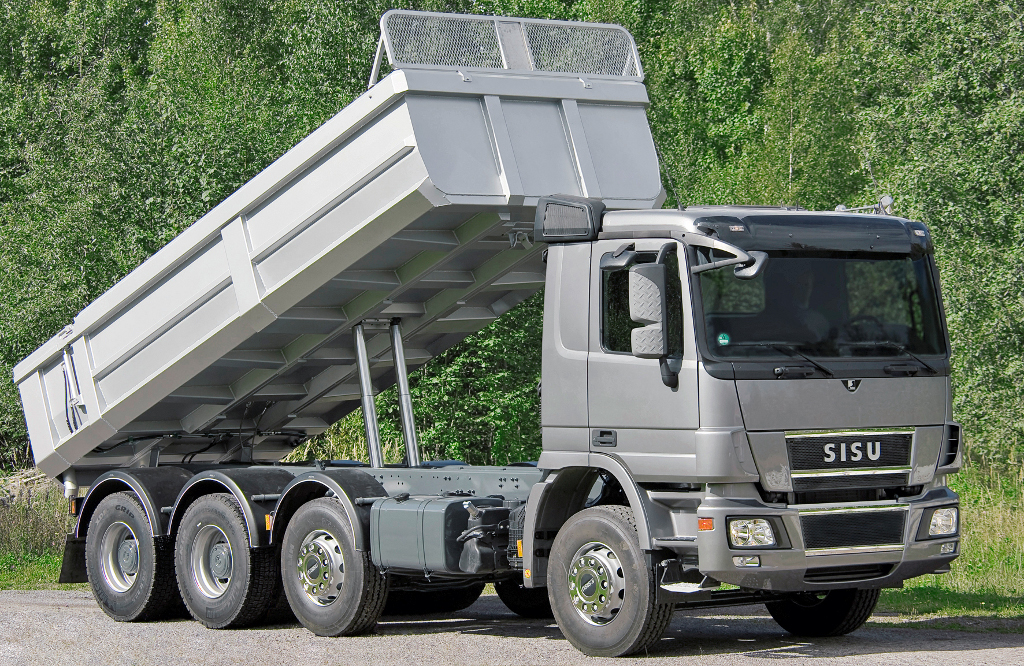 Mercedes trucks to supply oy sisu auto autoevolution for Mercedes benz commercial trucks