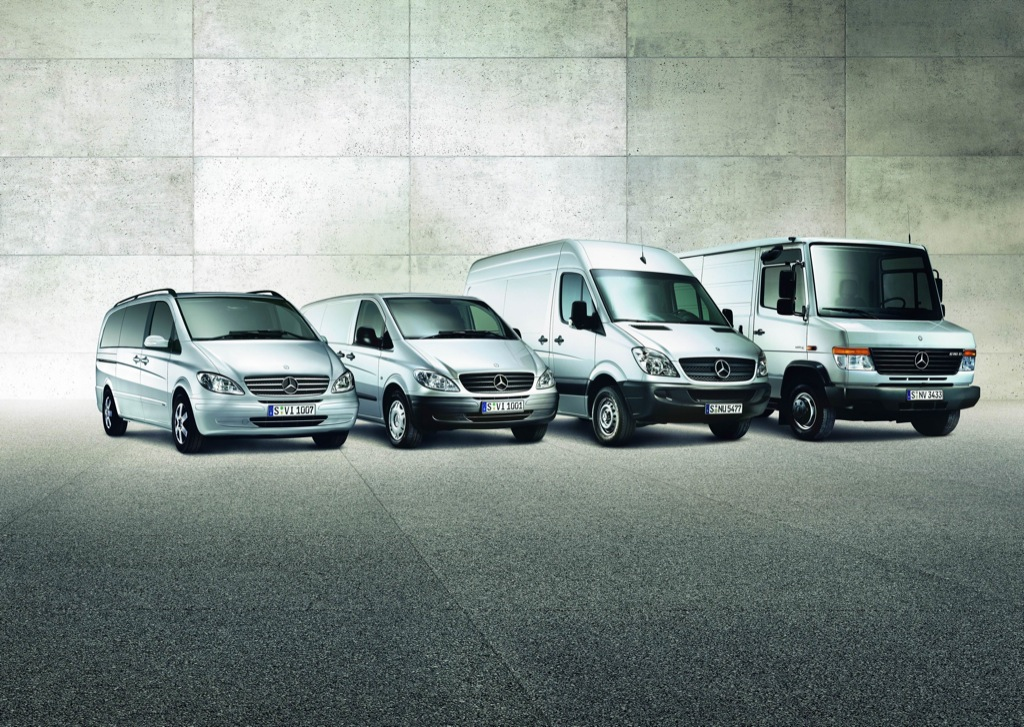 Mercedes vans brought steady sales in 2008 autoevolution for Mercedes benz mid size van