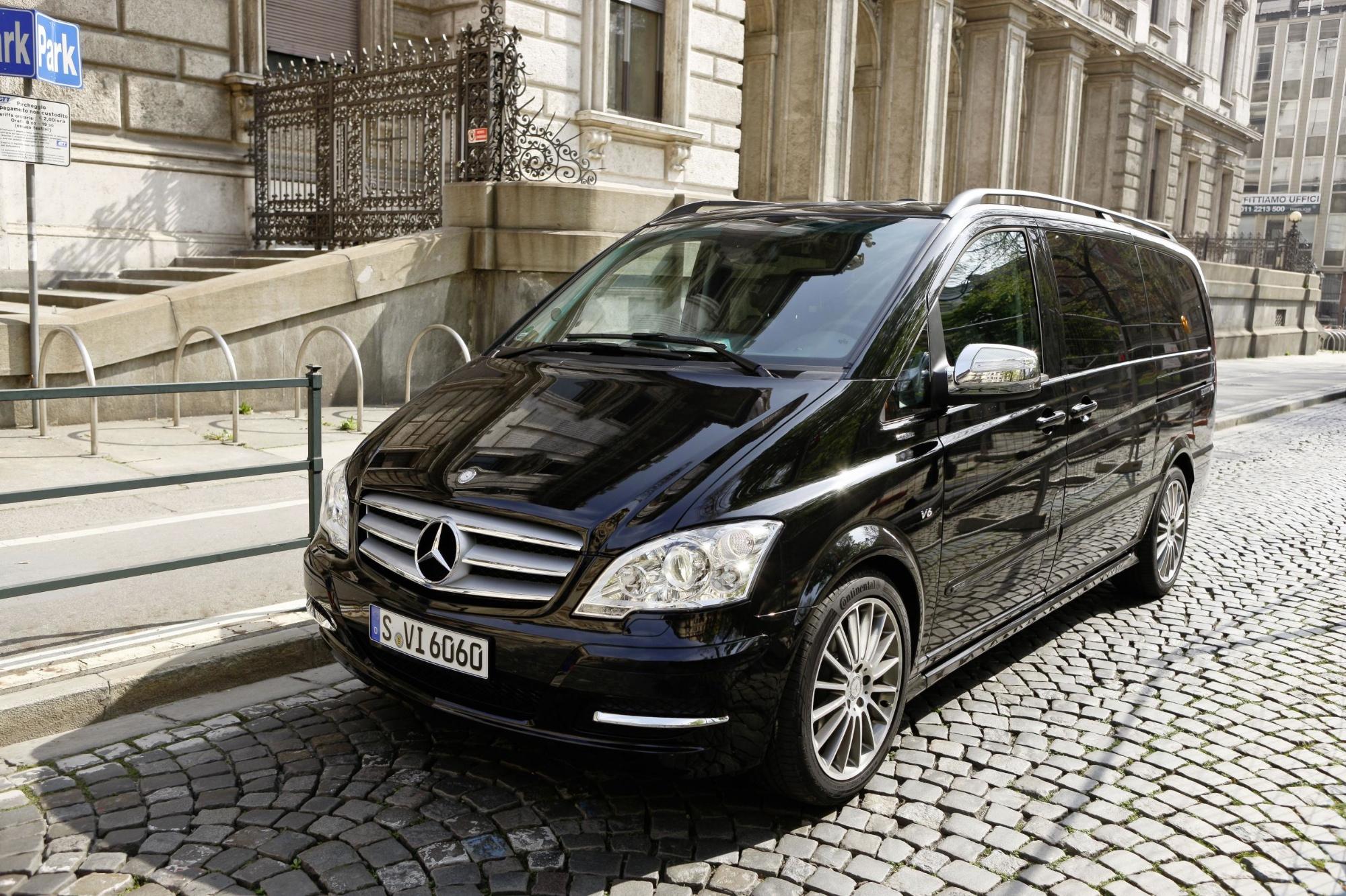 Mercedes viano van
