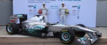 Mercedes W02 Unveiled in Valencia