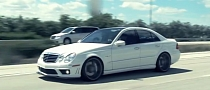 Mercedes W211 E63 AMG Rides on Vossen Concave Wheels [Video]