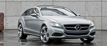 Mercedes Will Showcase CLS Shooting Break at Beijing Auto Show