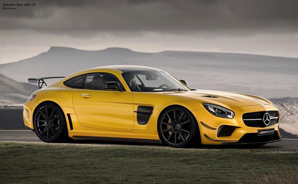 Render of upcoming AMG GT Black Series - Mercedes AMG GT Forum
