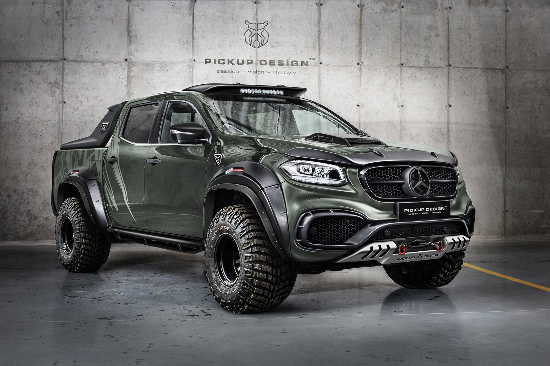 Mercedes X-Class Gets Pickup Design Body Kit and Carlex Luxury ...