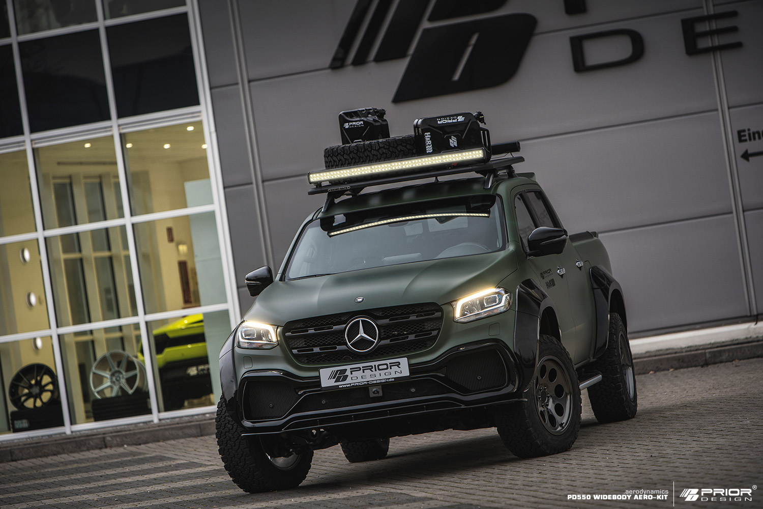 Mercedes X Class Gets Rugged And Sporty Prior Design Body Kit