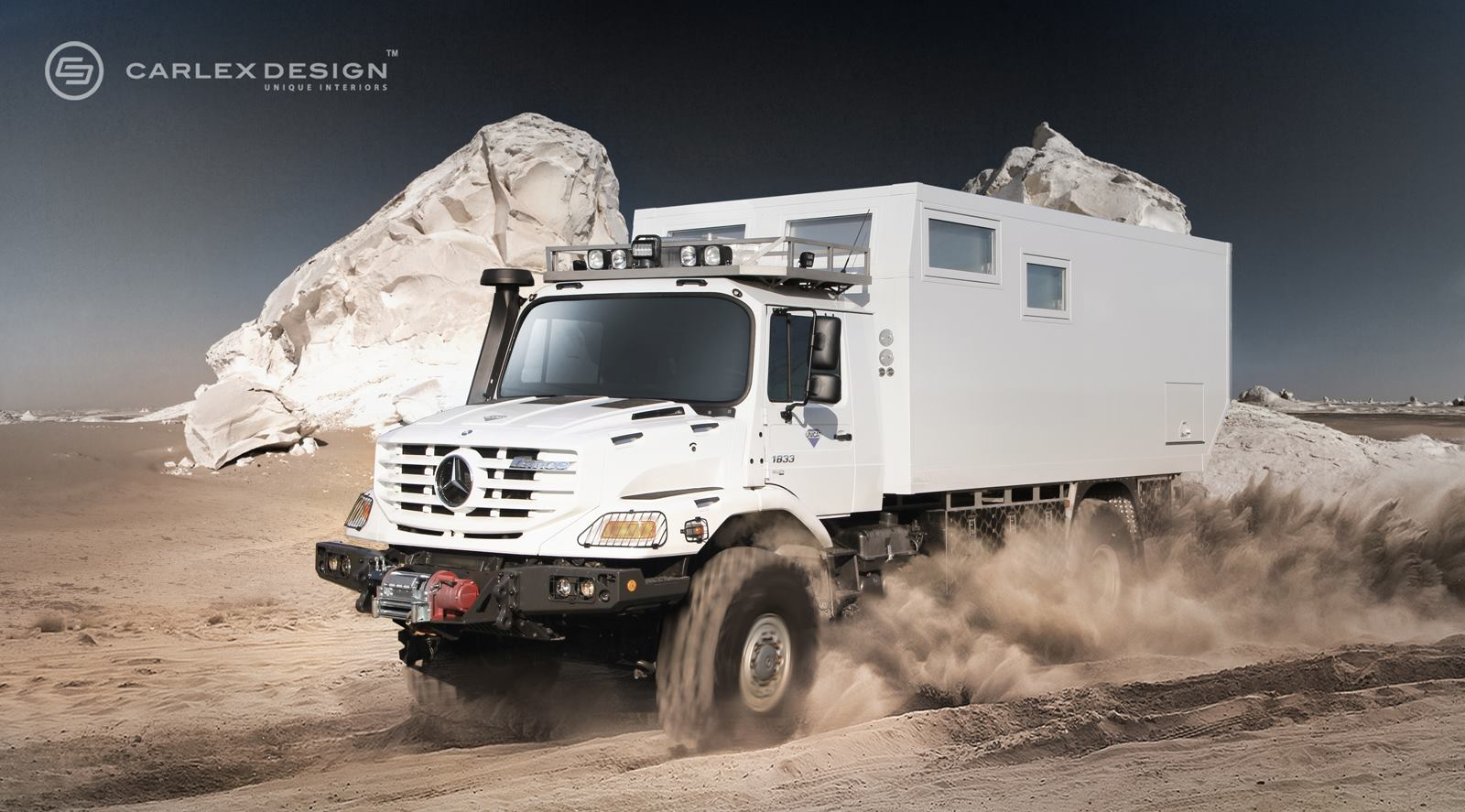 Mercedes 6x6 >> Mercedes Zetros Gets Desert Themed Luxury Interior from Carlex - autoevolution