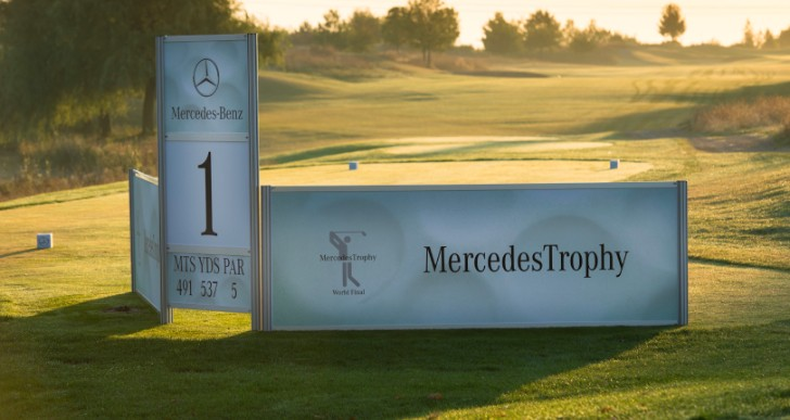 MercedesTrophy Golf World Final With 33 Teams