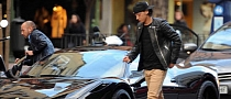 Mesut Ozil Fined for Double Parking his Ferrari 458