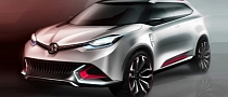 MG CS SUV Concept Confirmed for Shanghai Auto Show
