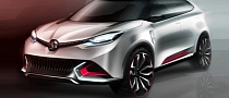 MG CS SUV Revealed Ahead of Shanghai Debut